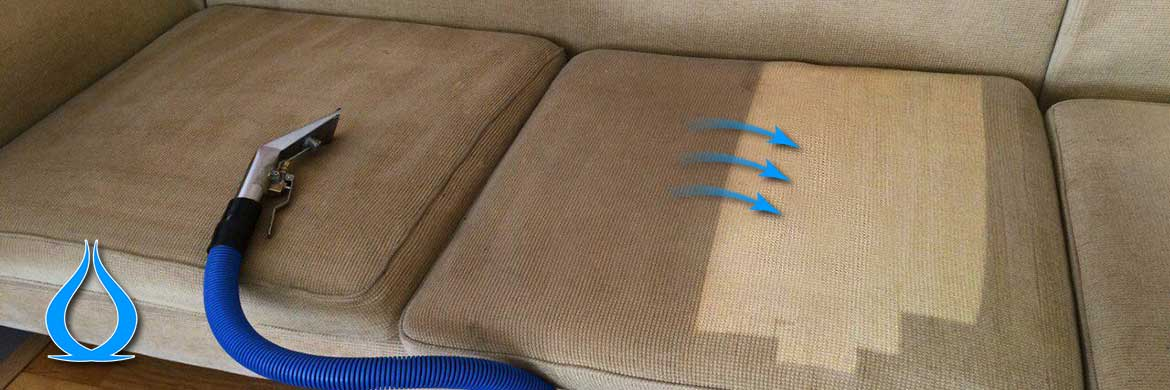 Steam Cleaning Fabric Sofa